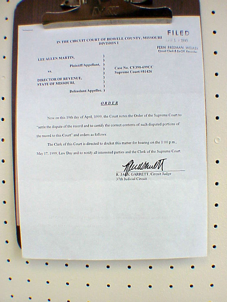 Peoples legal front driver license appeal to supreme court missouri supreme court order to transfer casejune 29 1999 xflitez Gallery